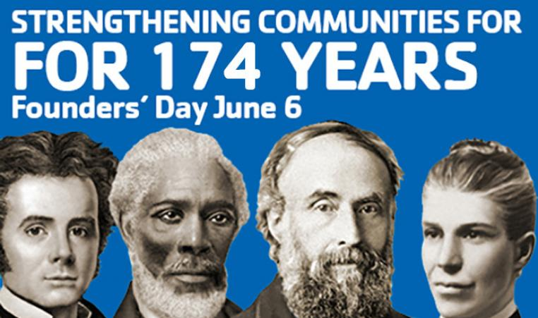 YMCA Founder's Day 174 years