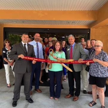 Hernando YMCA ribbon cutting